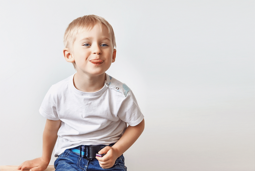 Treating Tongue Tie Helps Child Speak