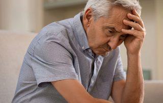 man suffering from alzheimers